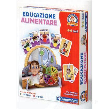 giochi educazione alimentare educazione alimentare scienze clementoni giocattoli