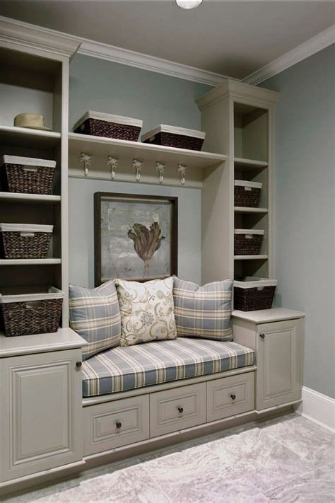 built in entry bench 1000 ideas about entryway bench storage on pinterest