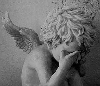imagenes angelito llorando le jardin des secrets petit ange blanc