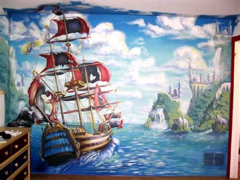 pirate wall murals 1000 images about murals on wall murals chinoiserie and tile murals