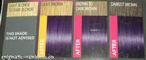 purple hair color chart loreal feria hair color chart feria hair color chart