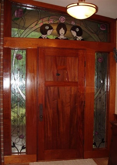 custom arts  crafts front door  lederer studio furniture custommadecom