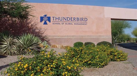Thunderbird School Of Management Mba by Done Deal Asu Finalizes Agreement For Thunderbird School