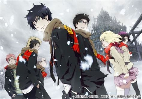 download film anime exorcist blue exorcist season 2 and blue exorcist movie gets the