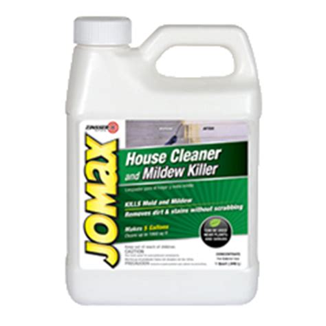jomax house cleaner zinsser jomax 174 house cleaner and mildew killer product page