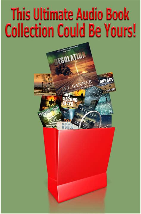 Audiobook Giveaway - 12 days of survival audio book giveaway