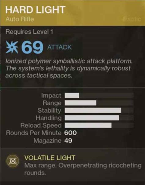 light destiny 2 destiny 2 gear light secondary weapon