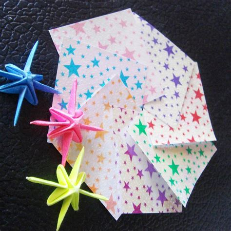Stores That Sell Origami Paper - lucky wish mini crane bird origami paper ribbon free