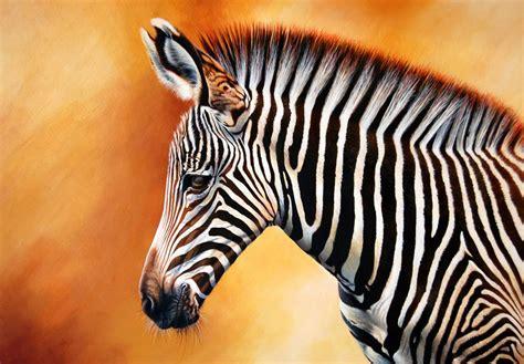 acrylic painting zebra grevy s zebra