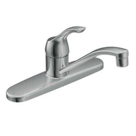 Moen Kitchen Faucet Home Depot Moen Adler Single Handle Low Arc Kitchen Faucet In Chrome