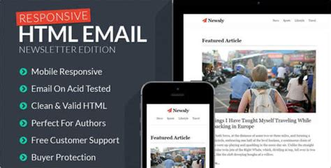 24 Mobile Newsletters Templates Free Design Exles Mobile Newsletter Template