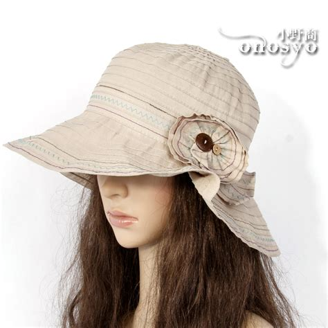 Cotton Sun Hat summer sun hat wide brim black cotton nwt cap