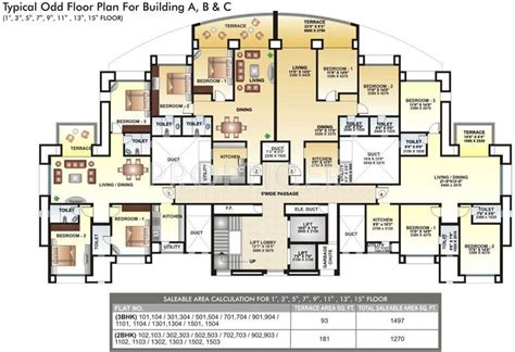 solitaire floor plans 1497 sq ft 3 bhk 3t apartment for sale in kool homes