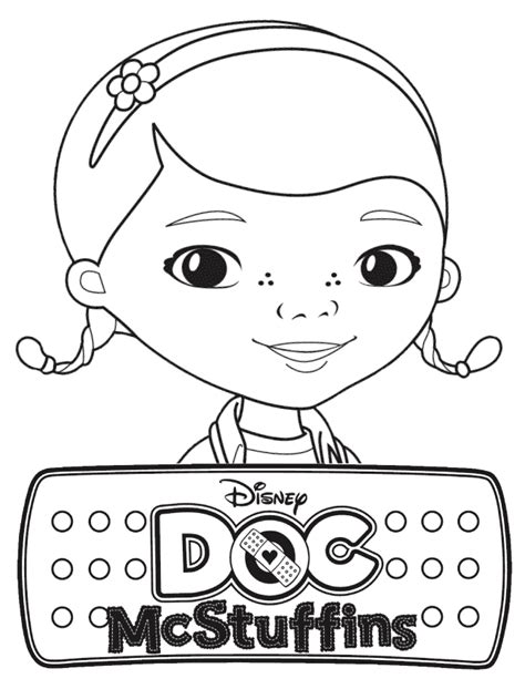 doc mcstuffins birthday coloring pages coloring pages for kids doc mcstuffins color page party