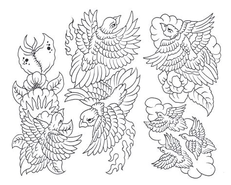 tattoo flash with outlines pin dragon outline photos pictures images on pinterest