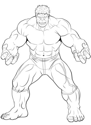 marvel coloring pages hulk avengers the hulk coloring page free printable coloring