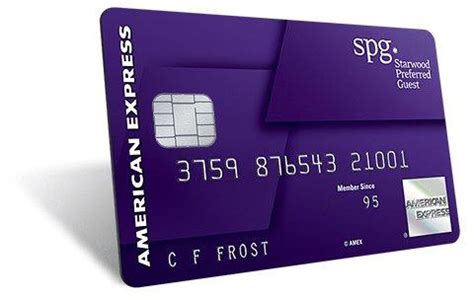 starwood preferred business card starwood preferred guest 174 spg 174 and american express