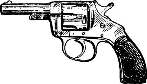 free vector graphic revolver pistol cowboy gun free