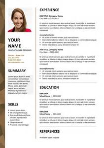 Free Cv Resume Templates by Dalston Newsletter Resume Template