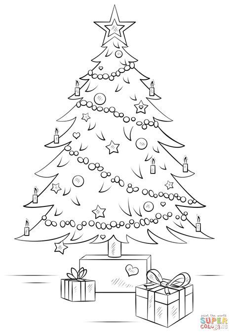 Easy Christmas Tree Drawing at GetDrawings | Free download