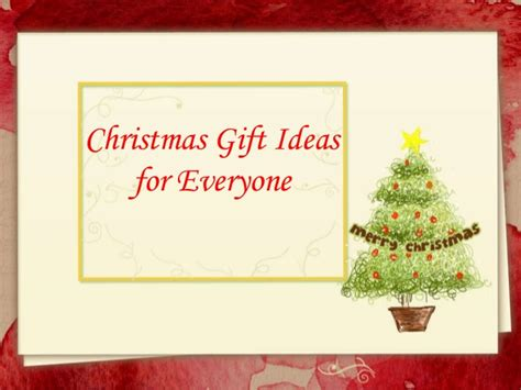 gift ideas for everyone