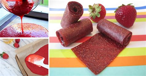 fruit roll up how to make fruit roll ups at home with real fruit and