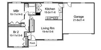 Floor Plans For Narrow Lots rosebury lake ranch home plan 008d 0102 house plans and more