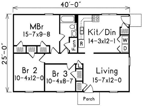 how many square feet is a 3 bedroom house 1000 foot house plans 1000 sq foot house plans 3 bedroom