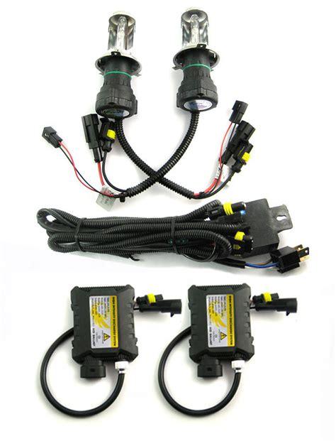 Hid Autovision Car Conversion Kit Hilow 12v 35w Mobil 1 Set 2 Slim Ballast hi low slim hid bi xenon bulb ballast conversion kit 12v 35w h4 3 6000k ebay