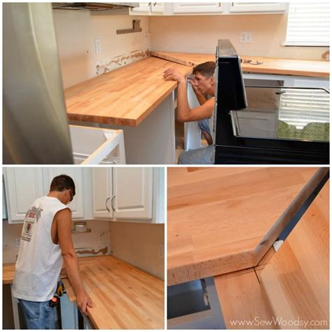 how to install butcher block countertops pin by ginny porto on for the home pinterest