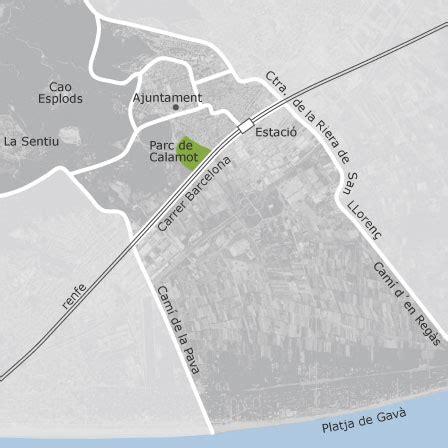 mapa de gava barcelona idealista