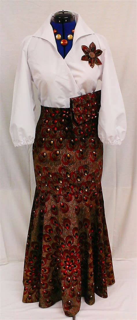 ethnic fishtail pics fishtail skirt african prints and ankara on pinterest