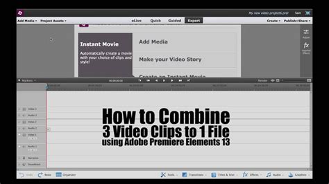 adobe premiere pro merge clips how to combine 3 video clips to one file using adobe