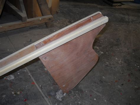 trimaran rudder design more photos of the uffa 10 trimaran under construction