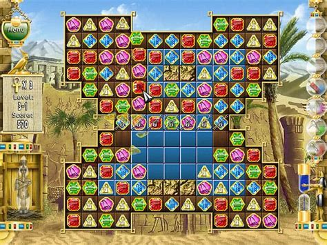 Gamis Guzle screenshot pharaoh puzzle