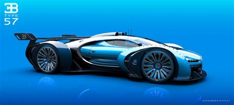 bugatti concept artist tries to improve upon bugatti s vision gt concept