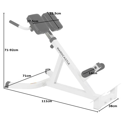 reverse sit up bench adjustable back hyperextension gym bench roman chair