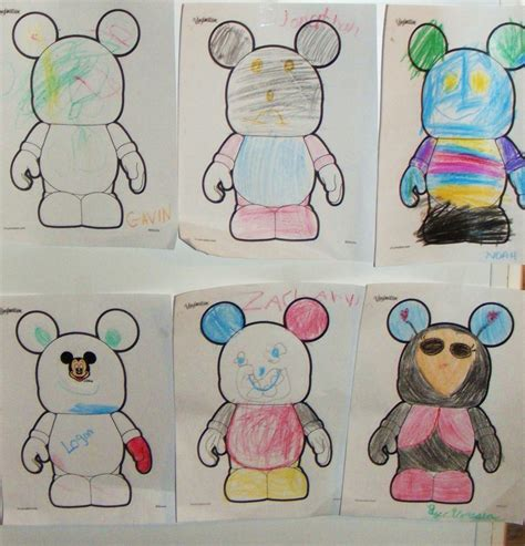 disney vinylmation coloring page walt disney world party with free printables mouse ears mom