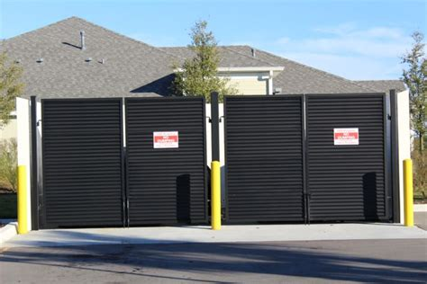 dumpster enclosure by in apollo fl proview