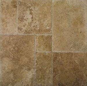 noce brushed travertine tile select chiseled versailles pattern