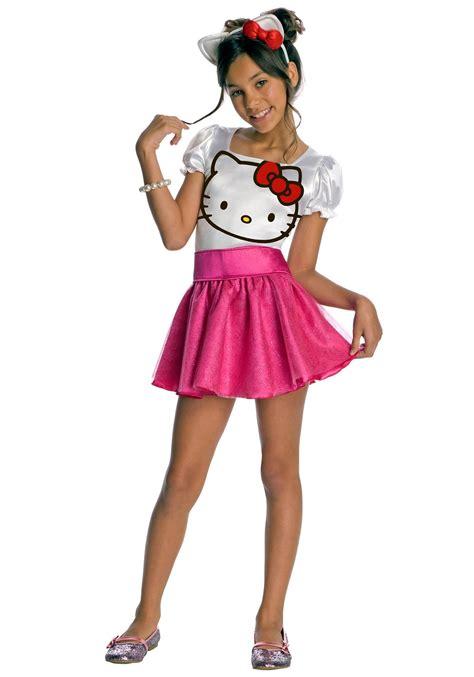 hello kitty toddler halloween costume child hello kitty costume