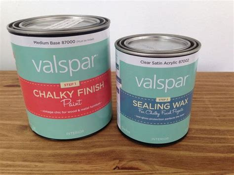 furniture makeover using valspar s new chalky finish paint hometalk