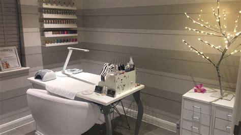 quick home nail salon  box room inspiration youtube