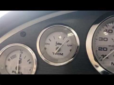 boat trim gauge adjustments are youtube - All Boat Gauges Not Working