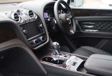 bentley bentayga interior black bentley bentayga rhd