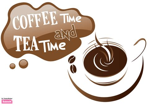 Kitchen Wall Stickers Uk wall sticker coffee and tea time 1