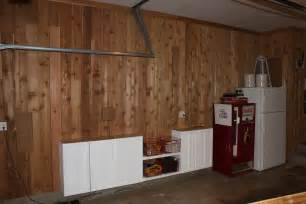 Unfinished Kitchen Cabinet cedar planking the garage the cavender diary