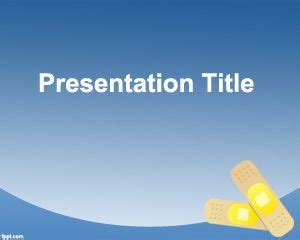 ppt themes nursing nurse powerpoint template