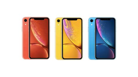 iphone xr colours apple s new entry level handsets form a veritable rainbow expert reviews