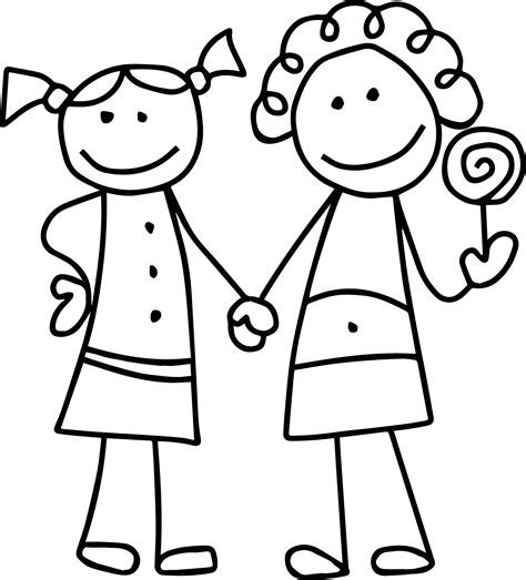 girl template coloring page i am thankful for friendship coloring page womanmate com